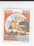 Stamps Italy -  castelo aragonese ischia