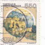 Sellos de Europa - Italia -  castelo di rocca Sinibalda