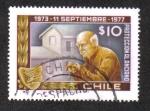 Sellos de America - Chile -  Protección al Anciano