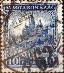 Sellos de Europa - Hungría -  Intercambio 0,20 usd 10 filler 1926
