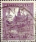 Sellos de Europa - Hungría -  Intercambio 0,20 usd 16 filler 1926