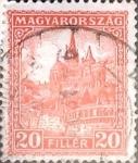 Sellos de Europa - Hungría -  Intercambio 0,20 usd 20 filler 1926