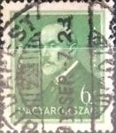 Sellos de Europa - Hungría -  Intercambio 0,20 usd 6 filler 1932
