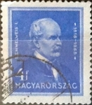 sellos de Europa - Hungría -  Intercambio 0,20 usd 4 filler 1932