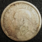 monedas de Europa - Reino Unido -  1944 (Anverso)