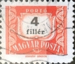 Stamps : Europe : Hungary :   4 filler 1965