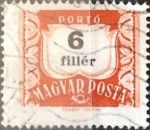 Sellos de Europa - Hungría -  Intercambio 0,20 usd 6 filler 1958