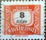 Stamps : Europe : Hungary :  8 filler 1965