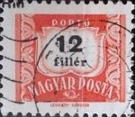 Stamps : Europe : Hungary :  12 filler 1965