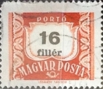 Stamps Hungary -  Intercambio 0,20 usd 16 filler 1958
