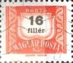Stamps : Europe : Hungary :  16 filler 1965