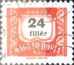 Stamps : Europe : Hungary :  24 filler 1965