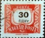 Stamps : Europe : Hungary :   30 filler 1965
