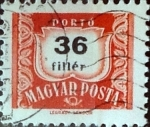 Stamps : Europe : Hungary :  36 filler 1965