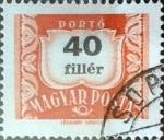 sellos de Europa - Hungría -  Intercambio 0,20 usd 40 filler 1958