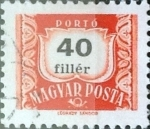 Stamps : Europe : Hungary :  40 filler 1965