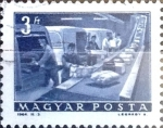 Stamps : Europe : Hungary :  Intercambio 0,25 usd 3 ft. 1964