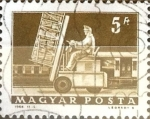 Stamps : Europe : Hungary :  Intercambio 0,25 usd 5 ft. 1964