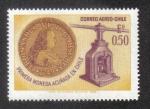 Sellos del Mundo : America : Chile : Primera Moneda Acuñada en Chile