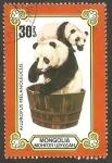Sellos del Mundo : Asia : Mongolia : Pandas