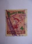 Stamps Cuba -  Pavo. Navidad 1955-56