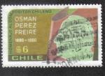 Sellos de America - Chile -  Osman Peréz Freire