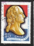 Sellos de America - Chile -  Bicentenario de la Independencia de Estados Unidos