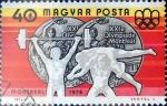 Sellos de Europa - Hungría -  Intercambio jxi 0,20 usd 40 f. 1976
