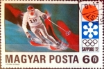 Stamps : Europe : Hungary :  Intercambio 0,20 usd 60 f. 1971