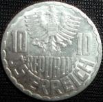monedas de Europa - Austria -  1962 (Anverso)
