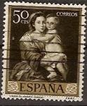 Sellos de Europa - España -  ESPAÑA SEGUNDO CENTENARIO USD Nº 1272 (0) 50C CASTAÑO NEGRUZCO MURILLO