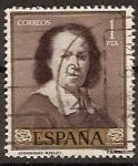 Stamps Spain -  ESPAÑA SEGUNDO CENTENARIO USD Nº  1275 (0) 1P CASTAÑO CLARO MURILLO