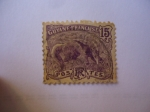 Stamps : America : French_Guiana :  Oso Hormiguero
