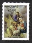 Sellos del Mundo : America : Honduras :  Navidad 2014