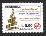 Stamps Honduras -  Navidad 2014
