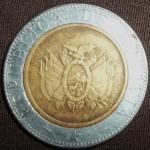 monedas de America - Bolivia -  2001 (Anverso)