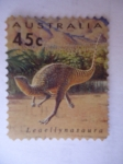 Stamps Australia -  Leaellynnasaura.