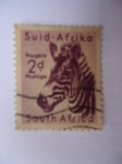 Stamps : Africa : South_Africa :  Suid-Afrika- Animales Salvajes-Cebra (S/201)