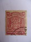 Stamps : Africa : South_Africa :  British Suth Africa Company - ESCUDO.