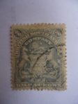 Stamps : Africa : South_Africa :  British Suth-Africa Company - ESCUDO.