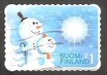 Stamps Finland -  Muñecos de nieve