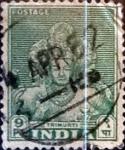 Stamps : Asia : India :  Intercambio 0,20 usd 9 p. 1949
