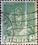Sellos de Asia - India -  Intercambio 0,20 usd 9 p. 1949