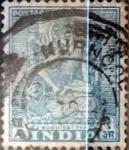 Sellos de Asia - India -  Intercambio 0,20 usd 1 a. 1949