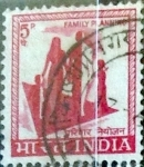 Stamps India -  Intercambio 0,20 usd 5 p. 1967