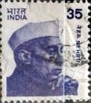 Sellos de Asia - India -  Intercambio 0,80 usd 35 p.  1980