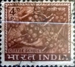 Stamps : Asia : India :  Intercambio 2,10 usd 4 p. 1968