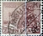 Stamps : Asia : India :  Intercambio 0,20 usd 6 p. 1949