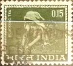 Stamps India -  Intercambio 0,20 usd 15 p. 1965