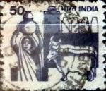 Sellos de Asia - India -  Intercambio 0,20 usd 50 p. 1981